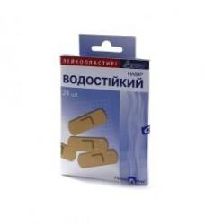 Лейкопластырь, С-пласт №24 водостойкий на пленочной основе (набор 4 размера)