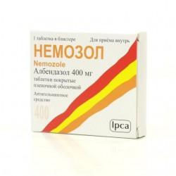 Немозол, табл. жев. 400 мг №1